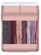 Multi-colored Striped Fabrics Duvet Cover