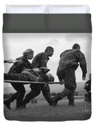 Multinational Medical Personnel Race Duvet Cover