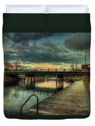 Napanee Harbour  Duvet Cover