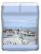 Natures Ice Sculptures 12 Duvet Cover