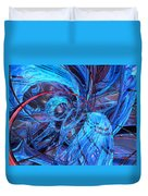 Neon Abstract Fx  Duvet Cover