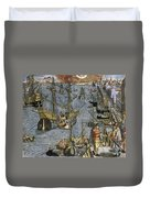 New World: Voyage, 1592 Duvet Cover