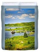 Newfoundland Landscape Duvet Cover