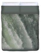 Niagara Falls, American Side Duvet Cover