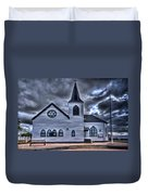 Norwegian Church Cardiff Bay Duvet Cover