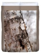 November Birch Duvet Cover