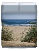 Ocean View With Sand Duvet Cover