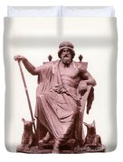 Odin, Norse God Duvet Cover by Photo Researchers