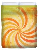 Old Grunge Paper Duvet Cover by Setsiri Silapasuwanchai