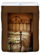 Old Iron Bed Duvet Cover