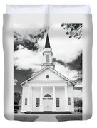 Old Koloa Church Duvet Cover