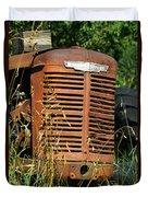 Old Mccormick Deering Duvet Cover