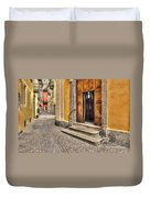 Old Stone Alley Duvet Cover