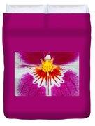 Orchid Closeup Duvet Cover