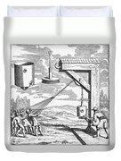 Otto Von Guericke, 1672 Duvet Cover