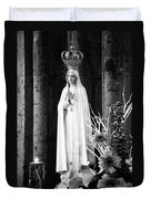 Our Lady Of Fatima Duvet Cover