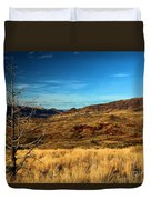Painted Hills Landscape Duvet Cover