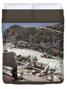 Paliorema Sulfur Mine And Processing Duvet Cover