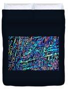 Paradichlorobenzene Crystals Duvet Cover