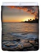 Paradise Sunset Duvet Cover
