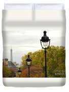Paris Street Duvet Cover