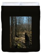 Path Into The Woods Duvet Cover