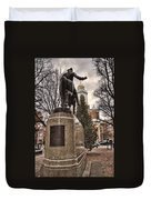 Paul Revere-statue Duvet Cover