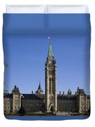 Peace Tower, Parliament Building Duvet Cover