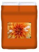 Peach Petals Duvet Cover