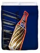 Pepsi Cola Bottle Duvet Cover