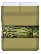 Peripheral Streak Image Of Watermelon Duvet Cover