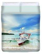 Philippine Boat Duvet Cover
