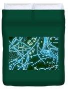 Phytoplankton Duvet Cover