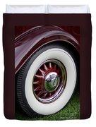 Pierce Arrow Wheel Duvet Cover