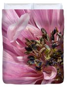 Pink Anemone From The St Brigid Mix Duvet Cover