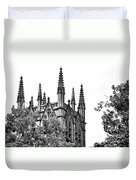 Pinnacles Of St. Mary's Cathedral - Sydney Duvet Cover