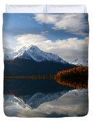 Pioneer Peak Duvet Cover