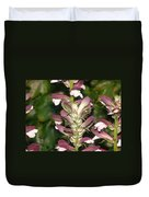 Plant And Flower Duvet Cover