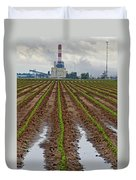 Power And Plants Duvet Cover