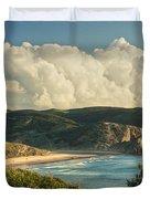 Praia Do Amado Duvet Cover
