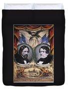 Presidential Campaign, 1856 Duvet Cover