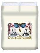 Presidential Campaign, 1868 Duvet Cover
