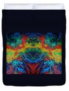 Primary Abstract IIi Design Duvet Cover