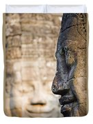 Profile Of Avalokiteshvara Statue Duvet Cover