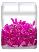 Purple Orchid Pile Duvet Cover by Atiketta Sangasaeng