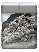 Pyroclastic Flow Descending The Flank Duvet Cover