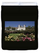 Queen Of The Spanish Missions Duvet Cover