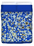 Radiolarian Ooze Lm Duvet Cover