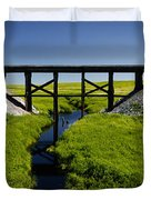 Railroad Trestle Duvet Cover