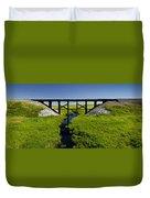 Railroad Trestle Duvet Cover
